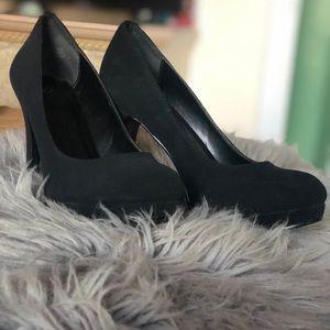 "4"" Black heels"
